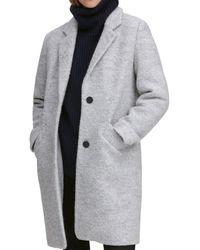 Marc New York - Paige Bouclé Coat - Lyst