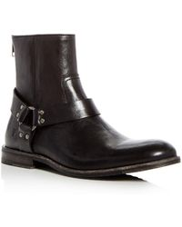 Frye - Men's Sam Leather Harness Boots - Lyst