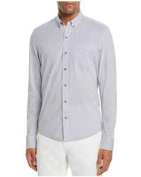 W.r.k. - Reworked Diamond Print Regular Fit Button-down Shirt - Lyst