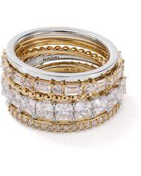 Nadri - Stackable Rings - Lyst