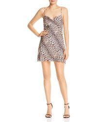 Bec & Bridge - Feline Silk Mini Dress - Lyst