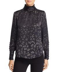 d2a4adf3 Frame Victorian Washed Silk Blouse - Foto Blouse and Pocket ...
