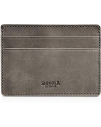 Shinola - Outrigger Leather Id Card Case - Lyst