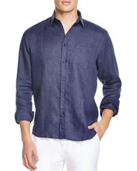 Vilebrequin - Linen Button-down Shirt - Regular Fit - Lyst