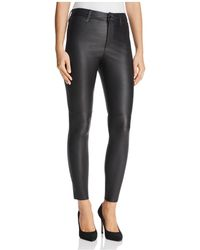 Joe's Jeans - The Icon Ankle Jeans In Black Coated - Lyst