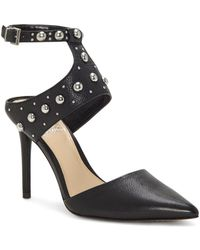 Vince Camuto - Women's Ledana Studded Ankle Strap Court Shoes - Lyst