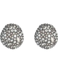 Alexis Bittar - Organic Pod Crystal Encrusted Stud Earrings - Lyst