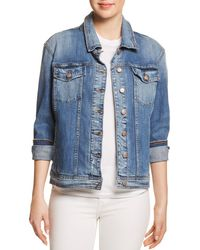 Joe's Jeans - The Boyfriend Denim Jacket In Morgin - Lyst