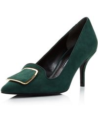 Charles David - Women's Aramina Suede Pointed Toe Court Shoes - Lyst