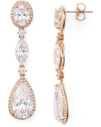 Nadri | Marquis & Pear Shaped Drop Earrings | Lyst