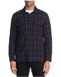 Velvet By Graham & Spencer - Bowman Long Sleeve Shirt Jacket - 100% Bloomingdale's - Lyst