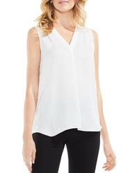 Vince Camuto - Sleeveless High/low Top - Lyst