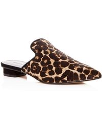 bc0c86e04bf5 Rebecca Minkoff - Women s Chamille Too Leopard Print Calf Hair Mules - Lyst