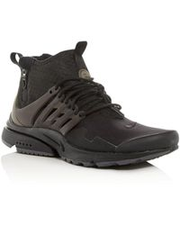 new product 1098d a5735 Nike - Mens Air Presto Mid-top Sneakers - Lyst