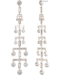 Ralph Lauren - Lauren Linear Drop Earrings - Lyst