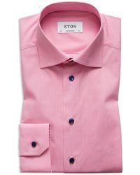 Eton of Sweden - Solid Regular Fit Dress Shirt - Lyst