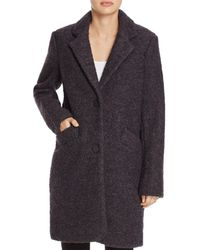 Marc New York - Paige Bouclé Coat - Lyst