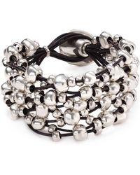 Uno De 50 - Beaded Toggle Bracelet - Lyst