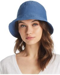 Aqua - Ribbon Bucket Hat - Lyst