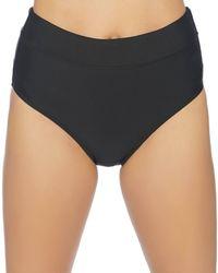 Athena - Samba Solids Mid-waist Bikini Bottom - Lyst