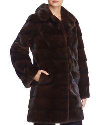 Maximilian - Mink Fur Coat - Lyst