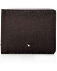 Montblanc - Meisterstück Sfumato Leather Bi-fold Wallet - Lyst