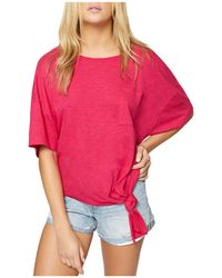 Sanctuary - Echo Park Tie Hem Top - Lyst