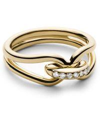 Shinola - 14k Yellow Gold Lug Ring - Lyst