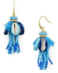 Rebecca Minkoff | Lola Seed Bead Tassel Earrings | Lyst