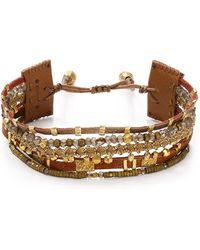 Chan Luu - Adjustable Beaded Bracelet - Lyst