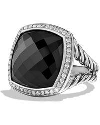 David Yurman - Albion Ring With Black Onyx And Diamonds - Lyst