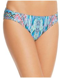 Laundry by Shelli Segal - Side Tab Hipster Bikini Bottom - Lyst