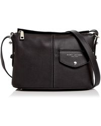 Marc Jacobs - The Side Sling Leather Crossbody - Lyst
