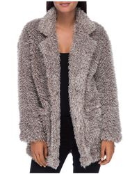 B Collection By Bobeau - Salma Faux Fur Jacket - Lyst