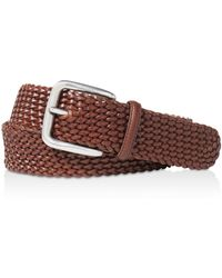 "Ralph Lauren - Polo ""savannah"" Braided Belt - Lyst"