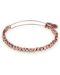 ALEX AND ANI - Star Beaded Expandable Wire Bangle - Lyst