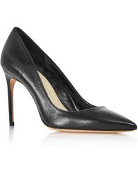 Brian Atwood - Women's Valerie Leather Pointed Toe Court Shoes - Lyst