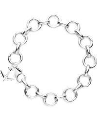 Jet Set Candy - Infinity Link Bracelet - Lyst