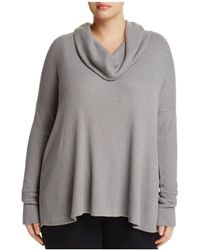 Lucky Brand - Crossover-back Cowl Neck Jumper - Lyst