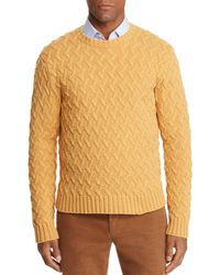 Brooks Brothers - Travelling Cable Jumper - Lyst