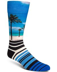 Cole Haan - Beach & Stripes Socks - Lyst