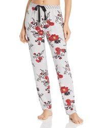 Pj Salvage - Floral Brushed Thermal Pj Trousers - Lyst