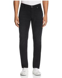 7 For All Mankind - Adrien Slim Fit Corduroy Pants In Onyx - Lyst