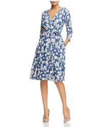 Weekend by Maxmara - Ursola Floral-print Wrap Dress - Lyst