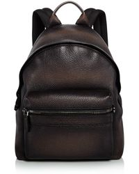 Ferragamo - Firenze Glow Pebbled Leather Backpack - Lyst