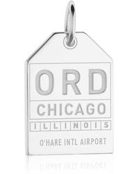 Jet Set Candy - Ord Chicago Luggage Tag Charm - Lyst