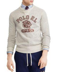 Polo Ralph Lauren - Graphic Crewneck Sweatshirt - Lyst