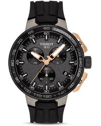 Tissot - T111.417.37.441.07 T-race Cycling Watch 44.5mm 316l Stainless Steel Case With And Rose Gold Pvd Coating - Lyst