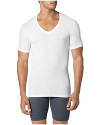 Tommy John - Second Skin Deep V Neck Tee - Lyst