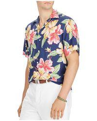 Polo Ralph Lauren - Tropical Classic Fit Short Sleeve Camp Shirt - Lyst